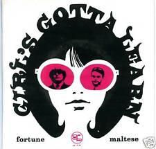 """FORTUNE MALTESE Phabulous Pallbearers Girls Gotta Learn 7"""" Detroit garage gories"""