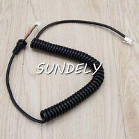 Fast Mic Cable For Yaesu Vertex Radio Microphone MH-48A6J MH-42B6J US SELLER