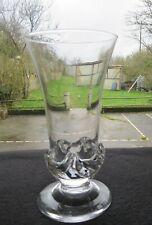 large vase crystal DAUM model sorcy signed Daum NANCY