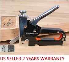 T45 Staple Gun Metal 3 Way Tacker Kit 600staple Upholstery Fabric Stapler Tacker