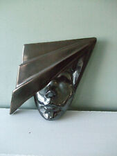 80's Wall Plaque Metallic Glaze Face with Angular Hat