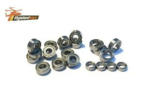 20x ZZ-Tuning Kugellager Bearing TAMIYA TT 01 E Chassis speed tuning bearing kit