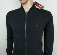 "Mens Merc London Mod Monkey Jacket Black Full Zip Size M Chest 42"" Brand New"