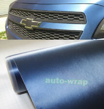 Bubble Free Stretch Car Steel Matte Brushed Metal Aluminum Vinyl Wrap Sticker US
