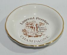 LAURENT PERRIER CHAMPAGNE Cendrier coupelle ramasse-monnaie porcelaine NEUF