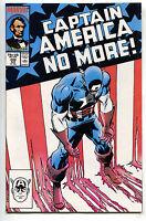 Captain America 332 Marvel 1987 NM Abraham Lincoln USA Flag Cap Quits