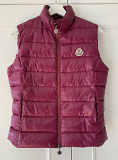 Moncler Womens Gilet Body Warmer Size S (1), Excellent Condition