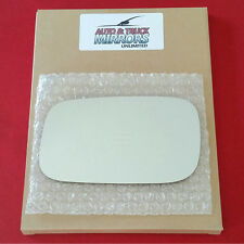 NEW Mirror Glass + ADHESIVE for 90-97 VOLKSWAGON PASSAT Driver Side *FAST SHIP*