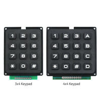 4x4/3x4 Matrix Array 16/12 Keys Switch USE Keyboard Keypad Module for Arduino