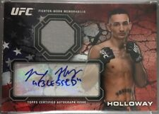 2013 Topps UFC Bloodlines MAX HOLLOWAY SSP Rookie RC RUBY RED AUTO + RELIC 1/1