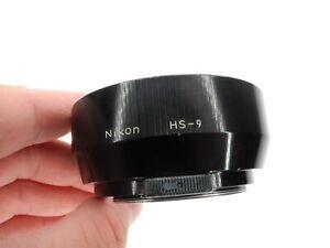 Nikon HS-9 Camera Lens Hood For Ai & Ai-S 50mm f/1.4