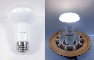 LOT OF 3 Philips LED Dimmable BR20 Light Bulb 450 Lumen 5000 Kelvin