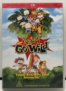 Rugrats - GO WILD - DVD - AusPost with Tracking