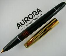AURORA 88P Gold Cap F - 1950 Ricercata Stilografica Vintage!!