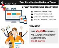 Hosting Business -Free Website w/Hosting - Fully Automated Download - DVD - USB