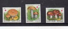 Finlandia Cruz Roja Micologia Setas serie del año 1980 (DH-996)