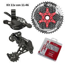 Gruppo trasmissione Kit Upgrade SRAM NX 1-11 velocità 4 pezzi 11-46 Sunrace