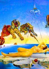"Reproduction ""Salvador Dali - Dream"" Poster, Home Wall Art, Size A2"