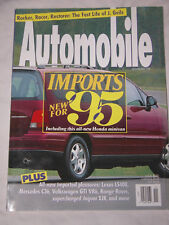 Automobile Magazine November 1994, Lexus LS400, Mercedes C36, Volkswagen GTI VR6