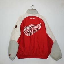 Vintage Detroit Red Wings Starter NHL Insulated Jacket Size XL