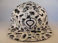 Circa Fitted Hat Cap Size 7 Billions White Black