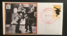 2021 Tap Dancer Forever Stamp Cachet Dancing Bear Captain Kangaroo Ooak Fdc308