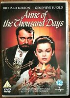 Anne of the Thousand Days DVD 1969 Henry VIII + Boleyn British Drama Classic