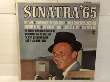Frank Sinatra Sinatra 65 Reprise Vinyl Record                             lp2586