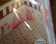 Garanimals  Baby Girls  Crib Bumper Pad  TROPICAL TALES Elephant/Bird Polyester