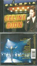 CD - CELINE DION : EN CONCERT LIVE A L' OLYMPIA ( PARIS ) COMME NEUF - LIKE NEW
