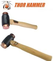 THOR COPPER / RAWHIDE HAMMER MALLET Size 208-A 210-1 212-2 214-3 216-4 222-5