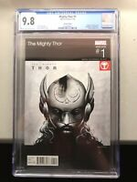 The Mighty Thor #1 Variant Hip Hop Love And Thunder CGC 9.8