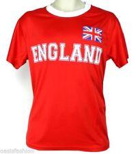 Camisetas de hombre rojos sin marca de poliéster