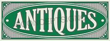 3'x8' ANTIQUES BANNER Outdoor Sign LARGE Market Shop Collectibles Furniture Sale