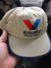 Valvoline Racing--Adjustable TAN--- baseball cap !====new !
