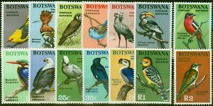 Botswana 1967 Birds Set of 14 SG220-233 Fine Lightly Mtd Mint