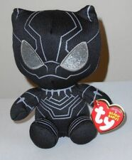 1b202270dd9 Ty 2018 Beanie Baby Babies - BLACK PANTHER 6 Inch Plush (Marvel Movies) NEW