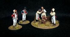 28mm Perry miniatures british camp napoleonic tooth extraction  metal - painted
