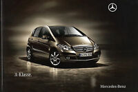 Prospekt 2009 Mercedes A Klasse W 169 Autoprospekt 6 09 brochure Auto Pkw 9.2.09