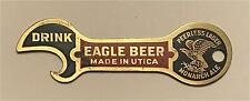 1910s Eagle Beer Peerless Lager Monarch Ale Utica Brass Key Bottle Opener B-60-2