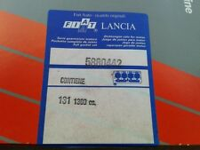 Full Set Gaskets, for FIAT 131 Mirafiori 1300 cc. eng. 131A.000  ( 5880442 )