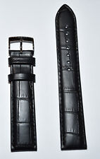 Original Tissot PR 100 20mm Black Leather Band Strap For T101417 T101407 T101410