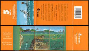 Finland 1177 Booklet, MNH.Gulf of Finland.Fish,Plankton,Shrimp,Herring,Ship,2002