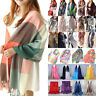 Fashion Women's Ladies Long Soft Scarf Wrap Shawl Stole Scarves Chiffon Pashmina
