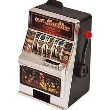New Grand Star Mini Slot Machine Coin Bank Tabletop Kids Fun Money Savings Game