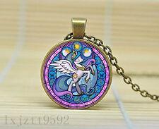 Princess Celestia My Little Pony Friendship Is Magic Necklace Glass Cabochon