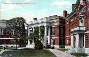 1910 CAMBRIDGE Radcliff College Harvard 60758 Massachusetts Postcard CS