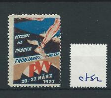 wbc. - CINDERELLA/POSTER - CF52 - EUROPE - FRUHJAHRS MESSE - 1927