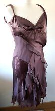 Beautiful Chic Karen Millen 8 UK Dress Prom Wedding Evening  Handkerchief hem
