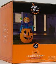 Halloween Gemmy Hyde & EEK! Boutique 6 ft Pumpkin Man Airblown Inflatable NIB